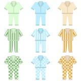 Pyjama'spictogram Royalty-vrije Stock Fotografie