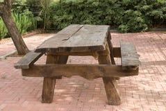Pykniczny stół Fotografia Stock