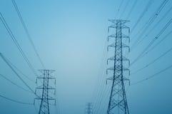Pylône électrique photographie stock