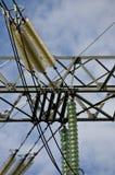 Pylône électrique au détail Photos stock