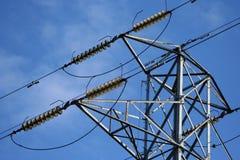 Pylône de l'électricité Image stock
