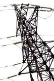 Pylône de l'électricité, d'isolement Photos libres de droits