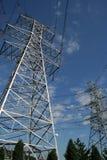 pylône de pouvoir de l'électricité Image libre de droits