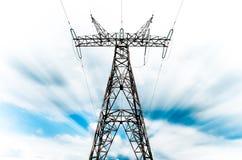 Pylône de réseau de pouvoir Photographie stock libre de droits