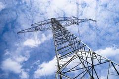 Pylônes électriques Photos libres de droits