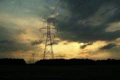 Pylônes Photo libre de droits