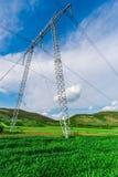 Pylône électrique Image stock