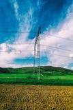 Pylône électrique Photos stock