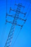 Pylône de l'électricité Images stock