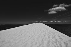 Pyla. Highest dune in Europe, Pyla, France Royalty Free Stock Image