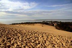 pyla de la France de dune Photographie stock