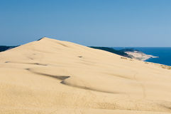 Pyla dune, the largest sand dune in Europe Stock Photos