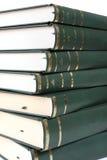 Pyle de libros Fotografía de archivo