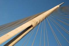 Pylon γέφυρα άνω του ADA Στοκ Φωτογραφία