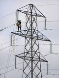 pylon εργαζόμενος 2 Στοκ Φωτογραφία