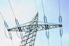 pylon μετάδοση γραμμών Στοκ φωτογραφία με δικαίωμα ελεύθερης χρήσης