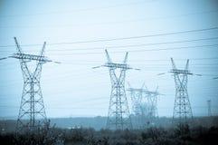 pylon μετάδοση γραμμών Στοκ εικόνες με δικαίωμα ελεύθερης χρήσης