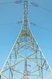 pylon μετάδοση γραμμών Στοκ Εικόνες