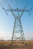 pylon μετάδοση γραμμών Στοκ Εικόνα