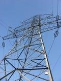 pylon μετάδοση ισχύος Στοκ Φωτογραφία