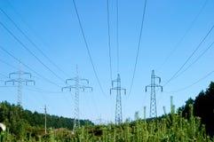 pylon μετάδοση ισχύος γραμμών Στοκ φωτογραφίες με δικαίωμα ελεύθερης χρήσης
