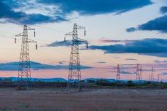 Pylon δύναμη Στοκ Εικόνες