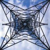 Pylon. An Electrical Pylon stock images