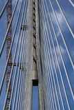 Pylon of the bridge Royalty Free Stock Photography