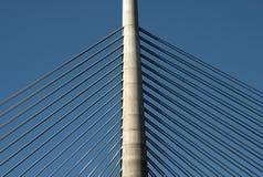 Pylon of the bridge-4 Royalty Free Stock Photo