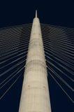 Pylon of bridge Royalty Free Stock Image