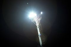 Pylon floodlight Stock Photos