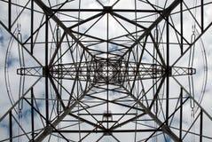 Pylon, harmony and energy Royalty Free Stock Images