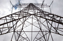 Pylon, harmony and energy Stock Images