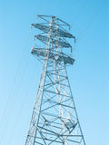Pylon for mains Stock Photo