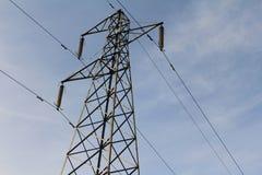 Pylon. Metal Electricity Sky Power stock images