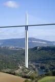 Pylon of the Millau Viaduct Royalty Free Stock Photo