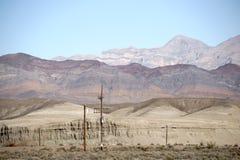 Pylon in the mountains Royalty Free Stock Photo