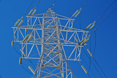 Pylon of power line Royalty Free Stock Photos