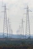 pylonen Royalty-vrije Stock Foto