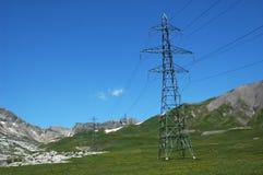 Pylonen in Bergen Stock Afbeelding