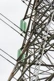Pylonen en kabel Stock Afbeeldingen
