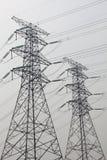 Pylonhintergrund im Himmel Lizenzfreies Stockfoto