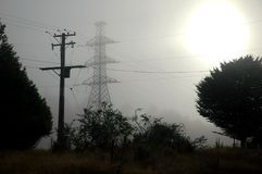 Pylons Royalty Free Stock Photo