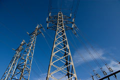 Pylons Stock Image