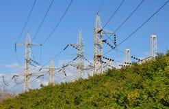 Pylons. Stock Image