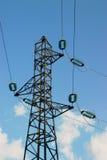 Pylons. Pylon tower stock photos
