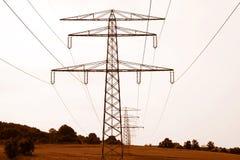 pylons royaltyfria foton