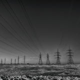 Pylons Royalty Free Stock Image