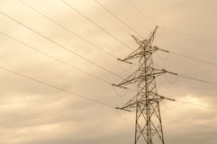 Pylons Stock Photo