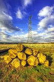 Pylons Stock Images